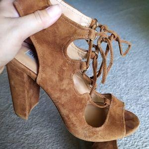 Steve Madden brown heels size 9.5M
